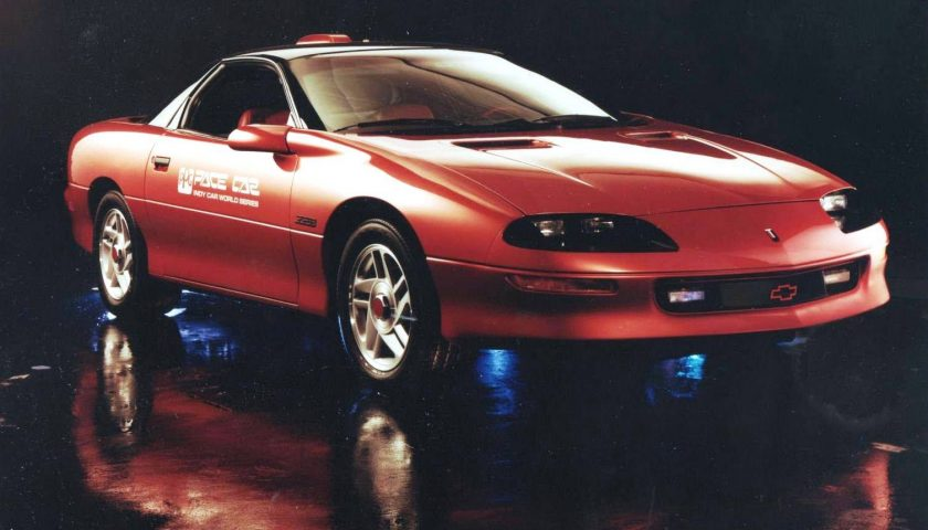 1993 ppg camaro z28 pace car red