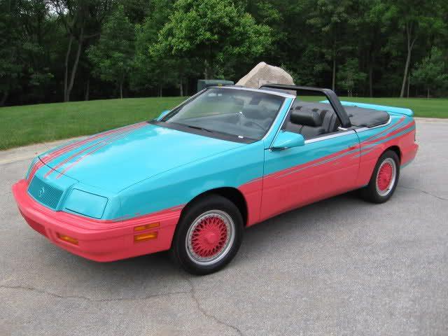 Chrysler lebaron ppg pace car