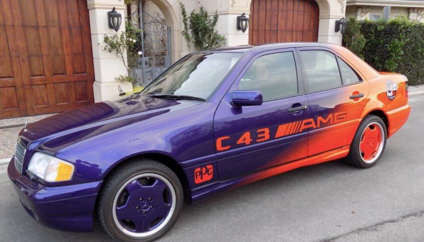 Mercedes Benz C43 AMG purple orange 1998 PPG Pace Car