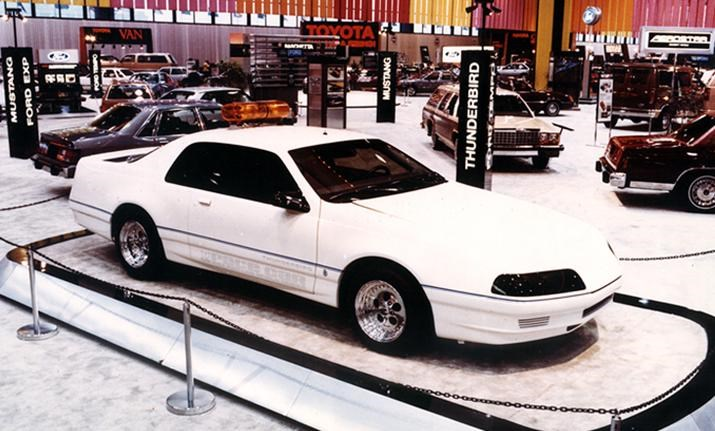 Ford Thunderbird 1983 PPG Pace Car autoshow