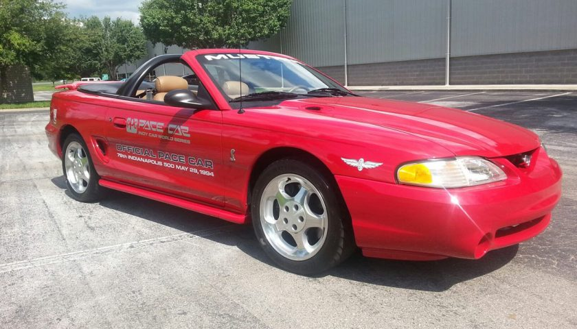 1994 mustang cobra indy 500 ppg pace car