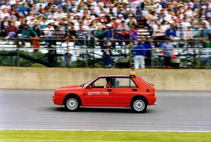 Lancia Delta HF Integrale Evoluzione 1992 PPG Pace Car