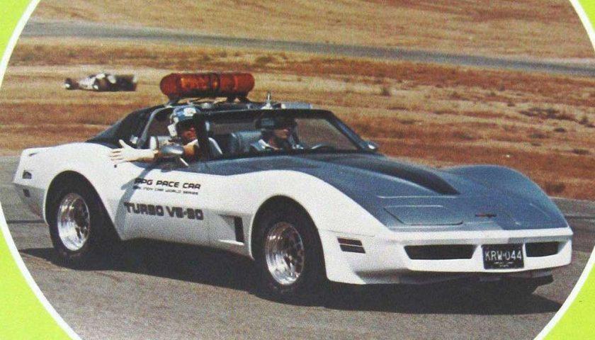 Twin Turbo V6 Chevrolet Corvette 1981 PPG Pace Car